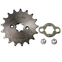 Size: 428 17T 17mm Hole Sprocket Eye to eye center distance: 31mm Tooth Number: 17 teeth Fit Shaft: 17mm Please Read The Size on The Second Pictures and Confirm It Is Same As Your Old one !