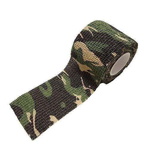 U/K Woodland Camouflage Cohesive Bandage Außenband verkleinern Bandage Tarnunglanglebig