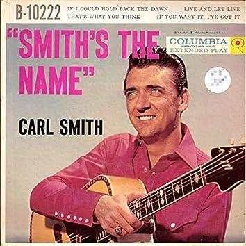 Smith's The Name
