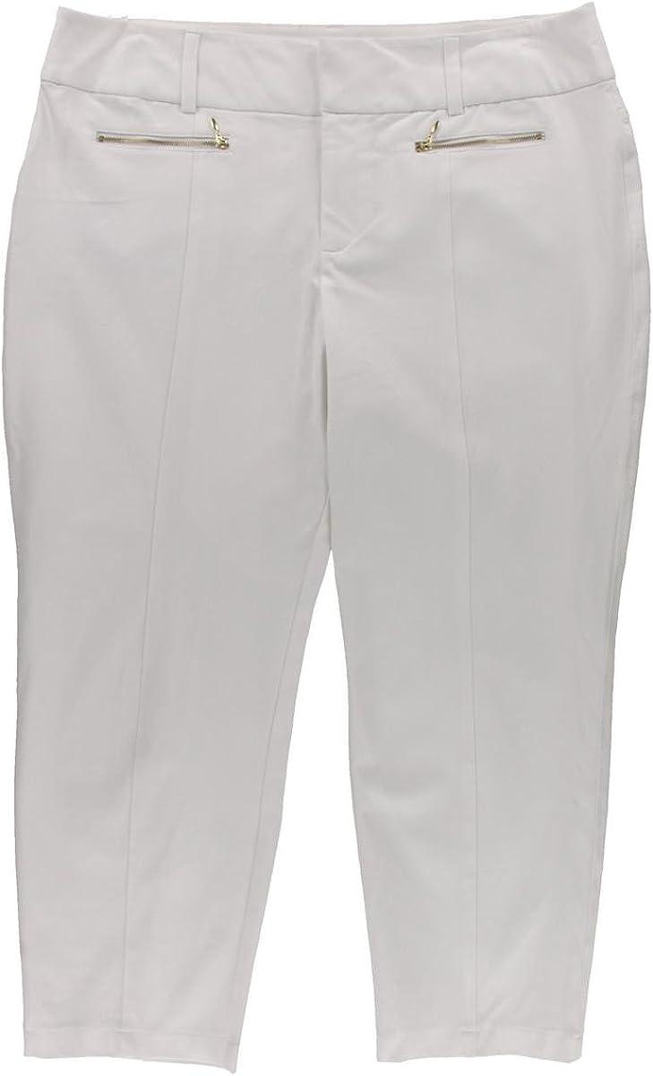 INC $70 Womens New 1088 White Casual Pants 18 B+B