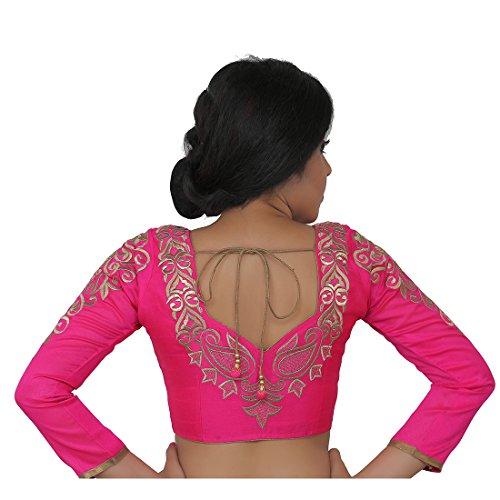 Intrigue Dupion Silk Long Sleeves Blouse