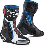 TCX Stivali da Moto RT-Race PRO Air Bianco/Nero/Blu, Bianco/Nero/Blu, 44