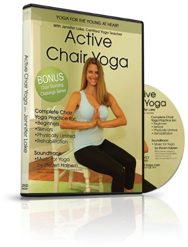 Active Chair Yoga: improving health one breath at a time. At home DVD that provides all the great benefits of a live class, for at home use. Improve mental alertness, balance, strength, flexibility, and relaxation at any age or stage of life.