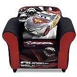 Delta Children Plastic Frame Upholstered Chair, Disney/Pixar Cars