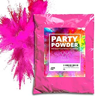 Hawwwy Colorful Powder Used for Baby Gender Reveal Powder Burnout, Colored Powder for Color Run, Tannerite Surprise Holi Games Motorcycle Exhaust Car Tires Truck Photography Baby Girl Packet (Pink)