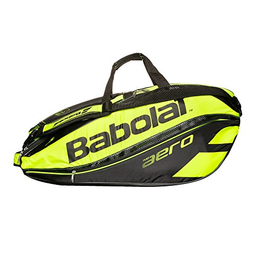 Babolat Pure Aero RH12 Mochila, Negro/Amarillo