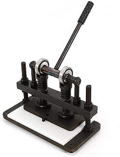 Hand Press Mold Mould Leather Die Cutting Machine Leather Cutter Machine 26x12cm