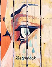 Sketch Book: Premium Abstract Notebook for Sketching, Doodling, Drawing, Journaling and Painting| Large Blank Paper Print Size (Premium Abstract Design)