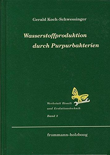 Wasserstoffproduktion durch Purpurbakterien: Biophotolyse des Wassers durch eine artifizielle Bakterien-Algen-Symbiose (Werkstatt Bionik und Evolutionstechnik, Band 3)