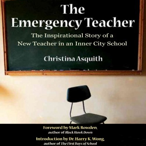The Emergency Teacher audiobook cover art