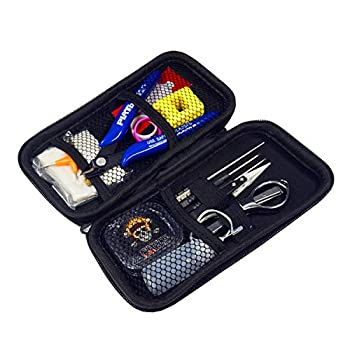 DIY Building Kit Home DIY Tool Set Building Bag,15 Pieces General Household Tool Master kit for Home Maintenance Jewelry Industrial Repairs