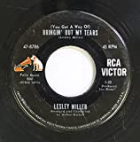 lesley miller 45 RPM (you got a way of) bringin' out my tears / he wore the green beret