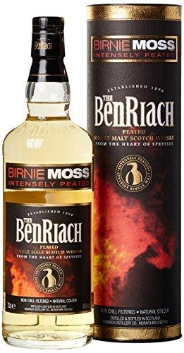 The BenRiach - Birnie Moss - Peated Single Malt Scotch Whisky - Speyside - 48{ef8e513d3011febba6a4cc26a4b8867514c2743dbc2117d8aa7b594c42cda173} Vol. (1 x 0.7l) / Mit Hochland-Torf geräuchert und gereift im Bourbon-Fass