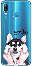 """SJKDM phone case FOR TPU Soft Case For Huawei Ascend P20 Lite 5.84"""" Transparent Printing Drawing Silicone Phone Cases Cover For Huawei P2"""