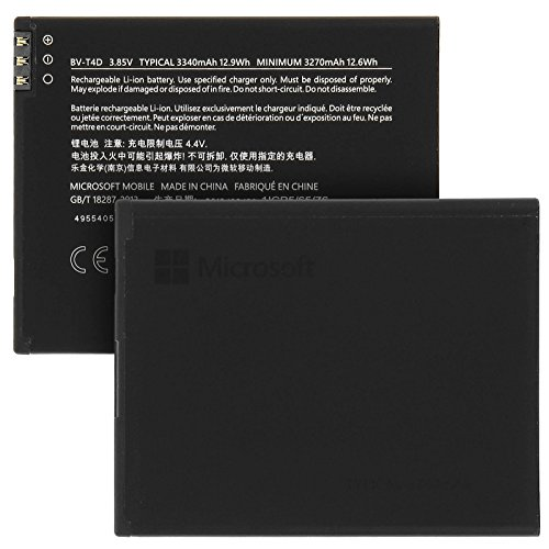 Microsoft Batteria originale Microsoft Lumia 950 XL BV-T4D 3340 mAh