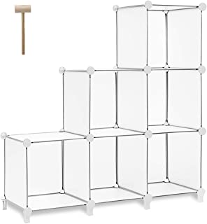 closet stacking shelves