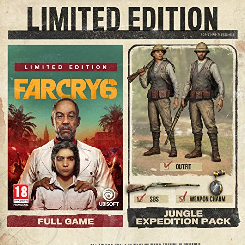 Far Cry 6 Limited Edition (Exclusive to Amazon.co.uk) (PS4)