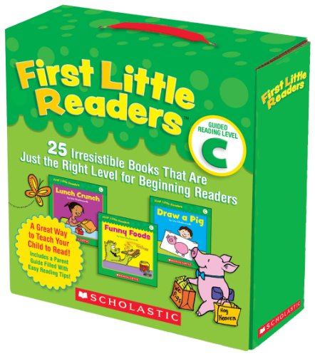 Compare Textbook Prices for First Little Readers Parent Pack: Guided Reading Level C: 25 Irresistible Books That Are Just the Right Level for Beginning Readers Illustrated Edition ISBN 8601401042150 by Charlesworth, Liza