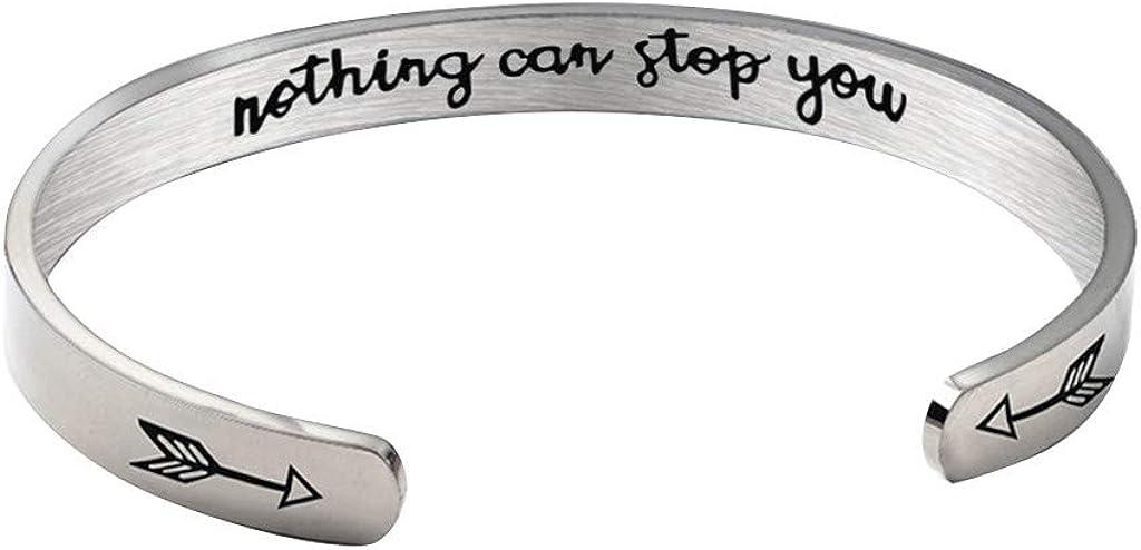 Bracelets for Women Multilayer Inspirational Hidden Message Mant