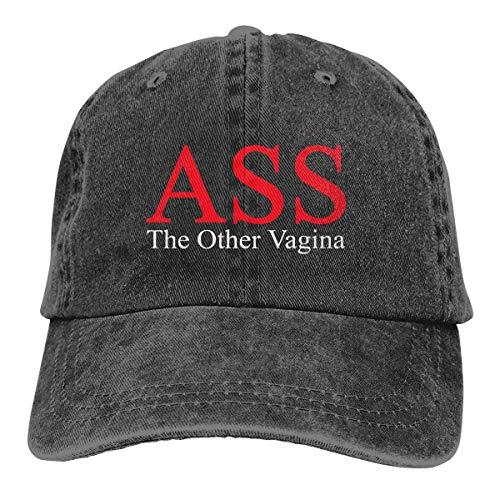 Ass - The Other Vagina Verstellbare Baseballmützen Denim Hats Cowboy Sport Outdoor