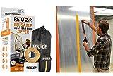 RE-U-ZIP Reusable & Lockable Dust Barrier Zipper | Starter Kit