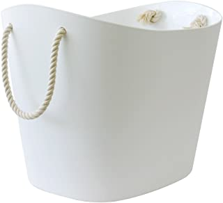 Balcolore Plastic Tub with Rope Handles