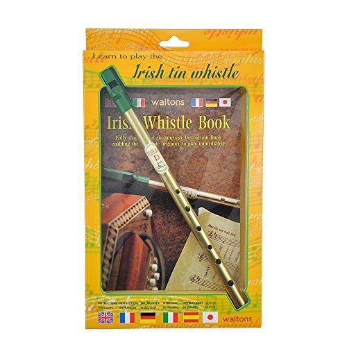 Walton del irish Tin Whistle in D libro