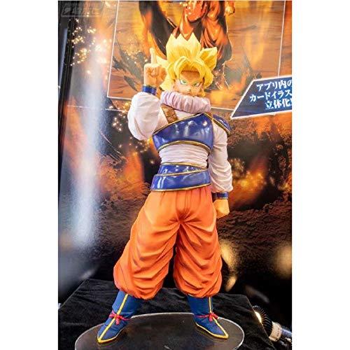 FJKYF Modelo De Animedragon Ball Legends Collab Goku Yardrat Modelo Figuras Juguetes 18Cm