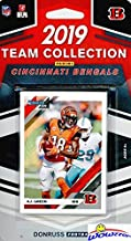 Cincinnati Bengals 2019 Donruss NFL Football Limited Edition 11 Card Complete Factory Sealed Team Set with Andy Dalton, A.J. Green, Anthony Munoz & Many More Stars & Rookies! WOWZZER