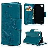 LG Q6 Wallet Case YOKIRIN Lederhülle Schutzhülle für LG