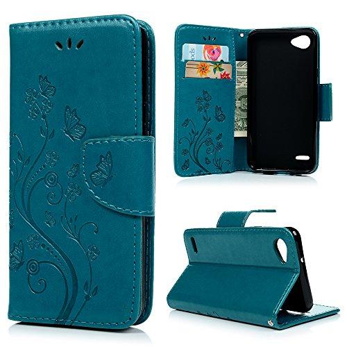 LG Q6 Wallet Hülle YOKIRIN Lederhülle Schutzhülle für LG Q6 (5.5