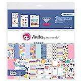 Anita y Su Mundo Momentos Kit Bolsa Scrapbooking, Multicolor, 30,5x30,5cm, 17