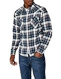 Levi's Barstow Western Camisa Casual de Manga Larga, Gris (Wintercress Dark Heather Gray 246), Small para Hombre
