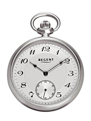 Regent - Taschenuhr - Mechanisch - Silber - Kleine Sekunde - P86