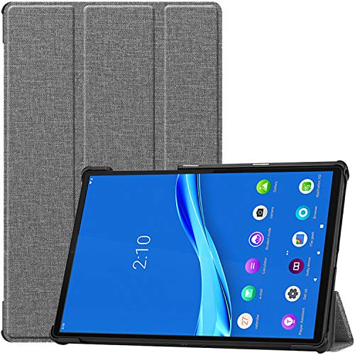 ProHülle Hülle für Lenovo Tab M10 FHD Plus 2020 (TB-X606F/TB-X606X), Ultra Dünn Stander Buchhaltung Hülle Stand Harte Hülle Schutzhülle für 10.3 Zoll Lenovo Tab M10 Plus Android Tablet 2020 –Hellgrau