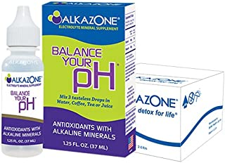 ALKAZONE Balance Your pH (Antioxidants Alkaline Mineral Booster & Supplements) (6-Pack)