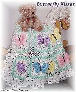 Best butterfly kisses baby blanket crochet pattern Reviews