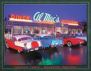 Desperate Enterprises Lucinda Lewis - Roadside America - Al Mac's Diner Tin Sign, 16