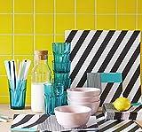 10 x IKEA Glas Heißgetränke Wasserglas Saft Cocktailglas Trinkbecher 35cl türkis - 2
