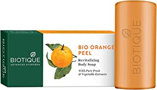 Biotique Bio Orange Peel Revitalizing Body Soap, 150g