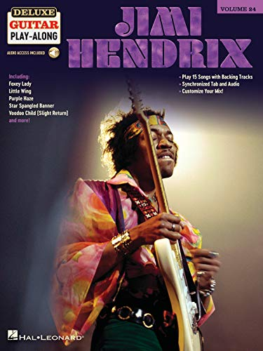 Jimi Hendrix: Includes Downloadable Audio (Deluxe Guitar Play-Along)の詳細を見る