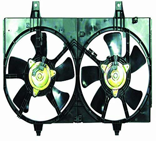 DEPO 315-55003-000 Replacement Engine Cooling Fan Assembly (This product is an aftermarket product. It is not created or sold by the OE car company)