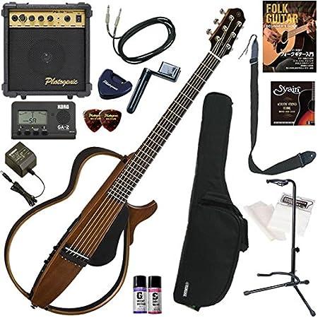 YAMAHA サイレントギター初心者入門 すぐに始められるスタンダード16点セット SLG200S/NT(ナチュラル)