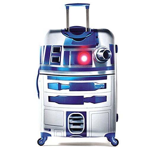American Tourister Star Wars 28 Inch Hard Side Spinner, R2-D2
