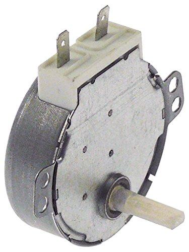 SYNCHRONOUS MOTORS SM-16E Getriebemotor für Mikrowelle Horeca-Select 220-240V 3W 30/36U/min 50/60Hz Welle ø 6x3,5mm AC
