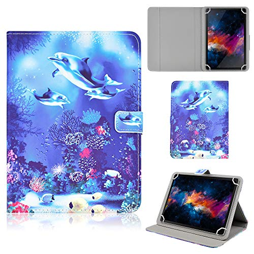 Funda para Artizlee ATL-21 Plus Tablet PC de 10.1'/ YUNTAB New Tablet Quad-Core 10.1'/Alldaymall Tablet 10.1'/Chuwi HiBook Pro 10.1'/ Dragon Touch X10 10'/Chuwi Hi10 10.1' Carcasa Flip Funda