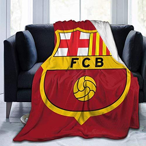 N/A Franela Sherpa,Viaje Alfombra,Manta De La Siesta,Manta De Felpa,FC Barcelona Mantas De...