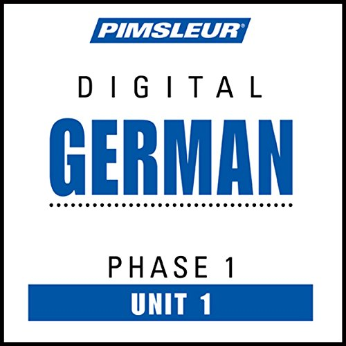 Couverture de German Phase 1, Unit 01