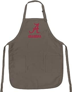 Broad Bay University of Alabama Grandpa Apron Best Alabama Grandpa Logo Gift for Man Him