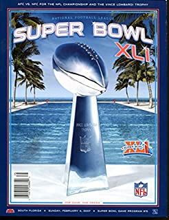 Super Bowl XLI 41 Program Colts v Bears Mint Condition